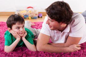 parlare con i propri figli